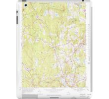 Massachusetts  USGS Historical Topo Map MA Sterling 351343 1968 25000 iPad Case/Skin