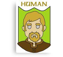 Hadley the Human Canvas Print