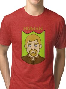 Hadley the Human Tri-blend T-Shirt