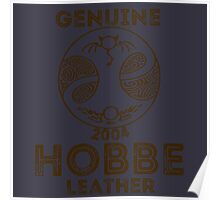 Albion Leather - Hobbe Poster