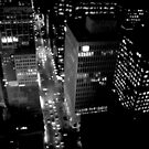 City Lights in B&W by PPPhotoArt