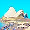 Sydney Opera House & Cafe by EWNY