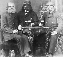 Vader enjoying a pilsner by amorlibertas
