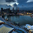 Singapore Skyline by Jason Pang, FAPS FADPA