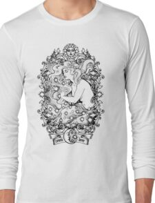 Cosmic Lovers  - ink solo version Long Sleeve T-Shirt