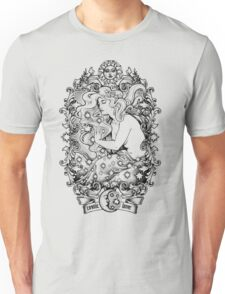 Cosmic Lovers  - ink solo version Unisex T-Shirt