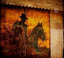 rusty nowhere by Sonia de Macedo-Stewart