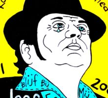 Andre Hazes Dutch Pop Folk Art Sticker