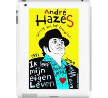 Andre Hazes Dutch Pop Folk Art iPad Case/Skin