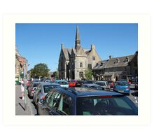 Stow-on-the-wold UK Art Print