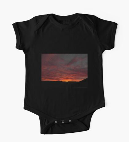Fire In The Sky One Piece - Short Sleeve