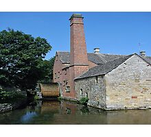 Flour Mill Lower Slaughter Uk Photographic Print