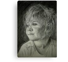 Bad hair day mom Canvas Print
