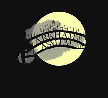 Arkham Asylum at Night Unisex T-Shirt