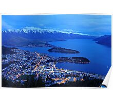 Queenstown. South Island, New Zealand. Poster