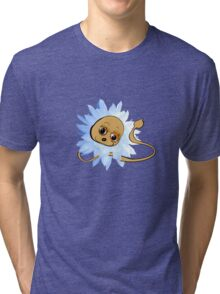 Dandy Lion Blue Tri-blend T-Shirt