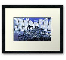 Abstract Etihad Framed Print