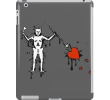 Black Beard Pirate Flag (Splatter) iPad Case/Skin