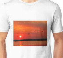 Early Morning Sunrise over Oak Hammock Marsh... Unisex T-Shirt