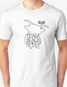 Team BlackSheep // SheepLine (black) T-Shirt