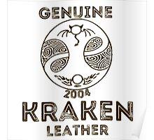 Albion Leather - Kraken Poster