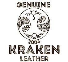Albion Leather - Kraken Photographic Print