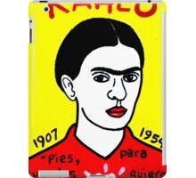 Frida Kahlo Pop Folk Art iPad Case/Skin