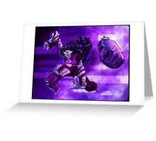 Sugilite - Gem Glow Greeting Card