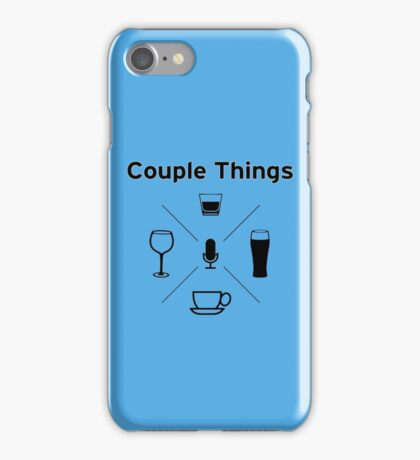 Couple Things Podcast Swag iPhone Case/Skin