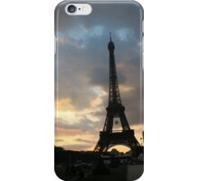 Eiffel Tower Before Sunset  iPhone Case/Skin