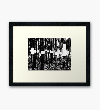 Silent Protest I Framed Print