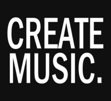 Austin Carlile Create Music Kids Tee