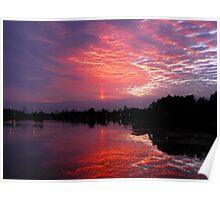 Pre-Sunrise Colours Poster