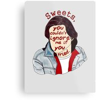 You Couldn't Ignore Me if You Tried [iPhone / iPod case / Print] Metal Print