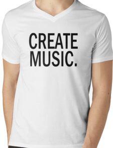Austin Carlile Create Music Mens V-Neck T-Shirt
