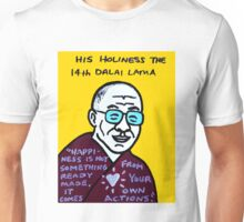 Dalai Lama Pop Folk Art Unisex T-Shirt