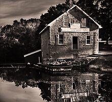 The Grist Mill by Jan Maklak