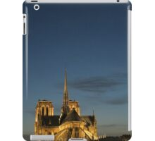 Notre Dame at Night  iPad Case/Skin