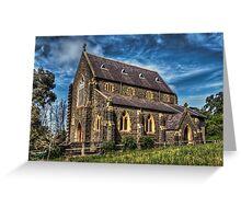 Bluestone Church - Clunes Greeting Card