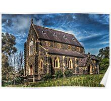 Bluestone Church - Clunes Poster