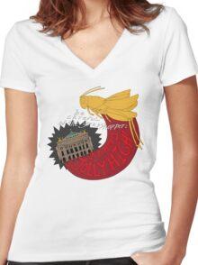 The Grasshopper Women's Fitted V-Neck T-Shirt