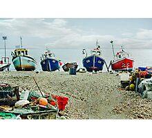 Harbour Life Photographic Print