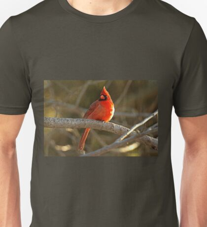 Northern Cardinal Songbird  - Cardinalis cardinals #1 Unisex T-Shirt