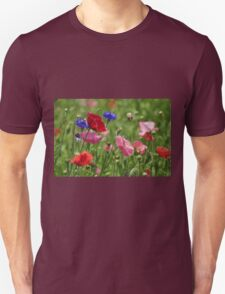 Poppies, As Is Unisex T-Shirt