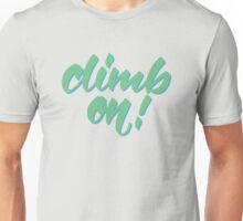 Belayer's Command Unisex T-Shirt