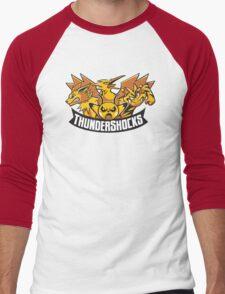 Team ThunderShocks Men's Baseball ¾ T-Shirt