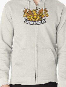 Team ThunderShocks Zipped Hoodie