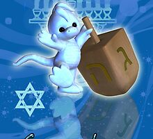 Happy First Hanukkah Greeting Card by Moonlake