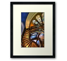 Off The Rails - QVB , Sydney - The HDR Experience Framed Print
