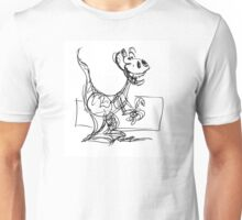 Bruno the wacky dino Unisex T-Shirt